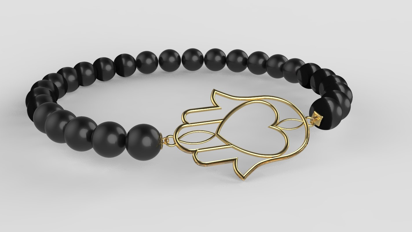 moroccan bracelet khmisa traditional model