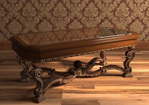 coffee table classic 3D model