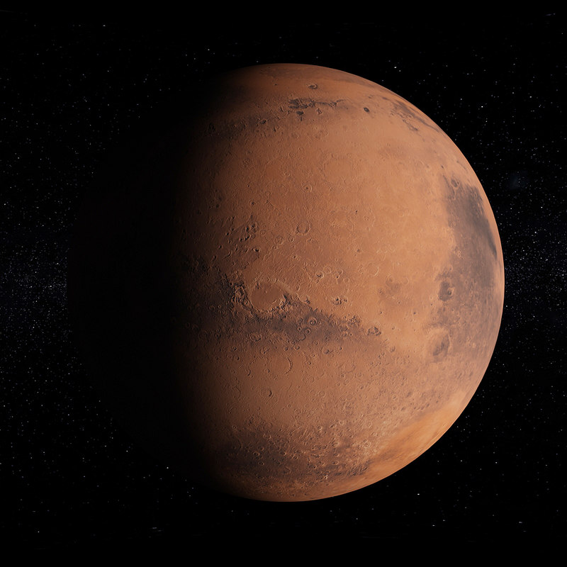 3D mars space