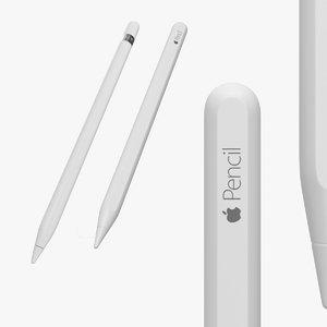 3D apple pencils pen