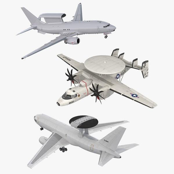 3D spy planes