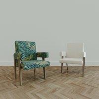 pierre arm chair 3D model