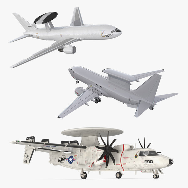 3D spy planes rigged