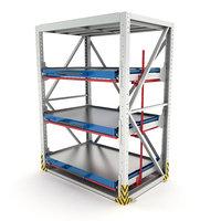 Heavy-duty rack