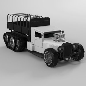 steampunk 3D model