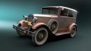 vehicle 1927 3D