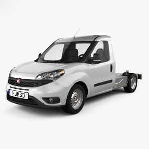 fiat doblo chassis 3D model