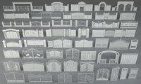 gates - 46 pieces 3D model