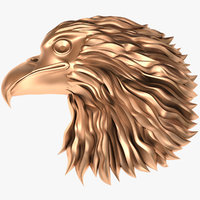 eagle head 3D model