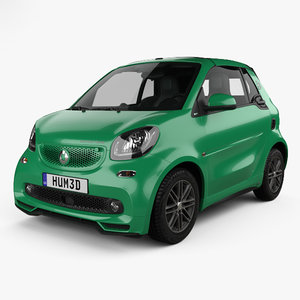 3D smart fortwo brabus