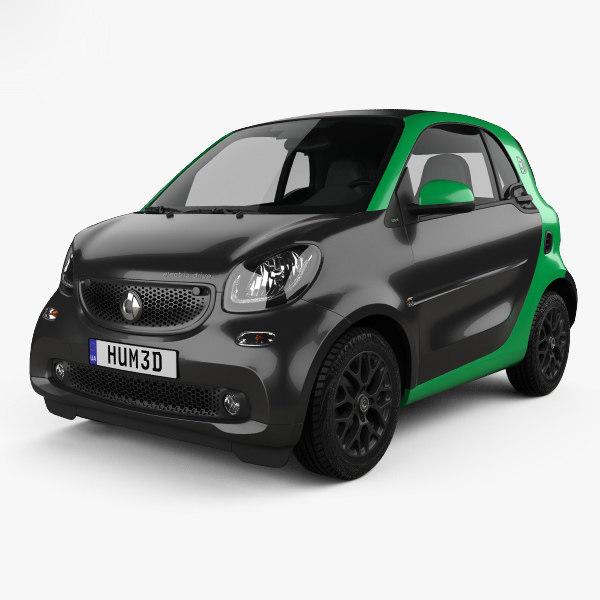 3D smart fortwo drive model