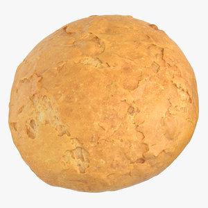 3D bread 05 model