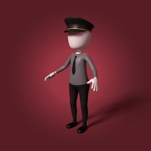 3D model cartoon general