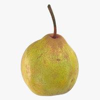 3D model pear 03