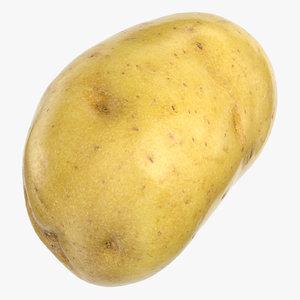 3D potato clean 01