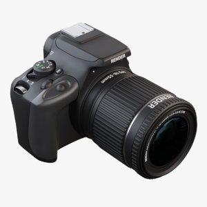 canon camera model