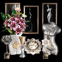 3D decorative set 42 model