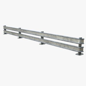 lightwave traffic barrier 3D model