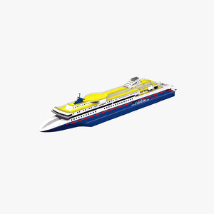 superspeed2 ferry 3D model