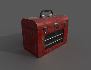 old toolbox 3D