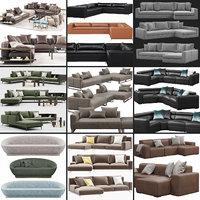 3D baxter sofa model