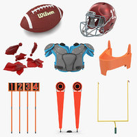 3D football equipment 3 ball