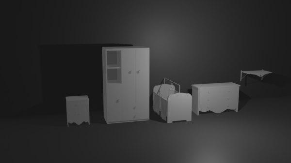 3D baby room