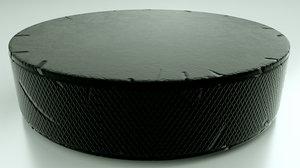 hockey puck scratch marks 3D model