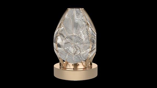 3D fresnel lens model