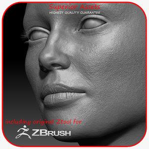 ultra woman character 3D model