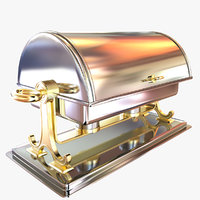 3D chafing dish model