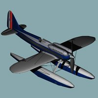 3D model schneider trophy racer supermarine