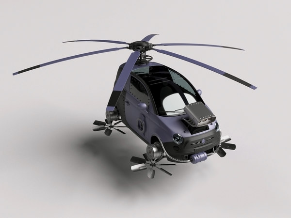 car steampunk 3D model