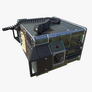3D radio phone