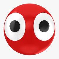 eyes ball 3D model