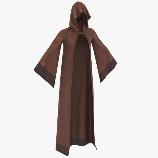 3D real robe