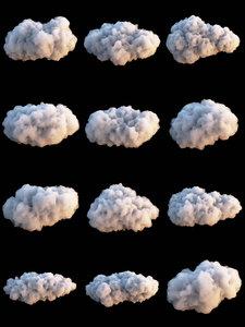 clouds set 3 model