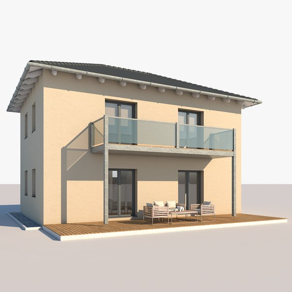 contemporary house model