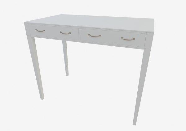 scandinavian table furniture 3D