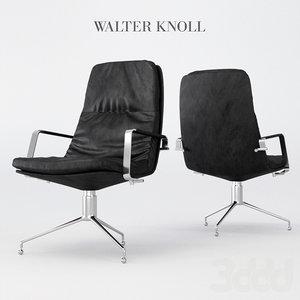 walter knoll armchair 3D