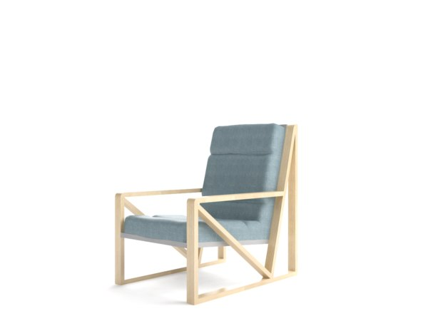 easy chair 3D model