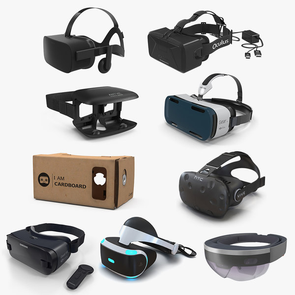 virtual reality goggles 5 3D model