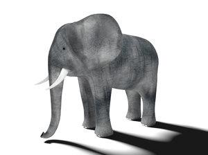 elephant mini 3D