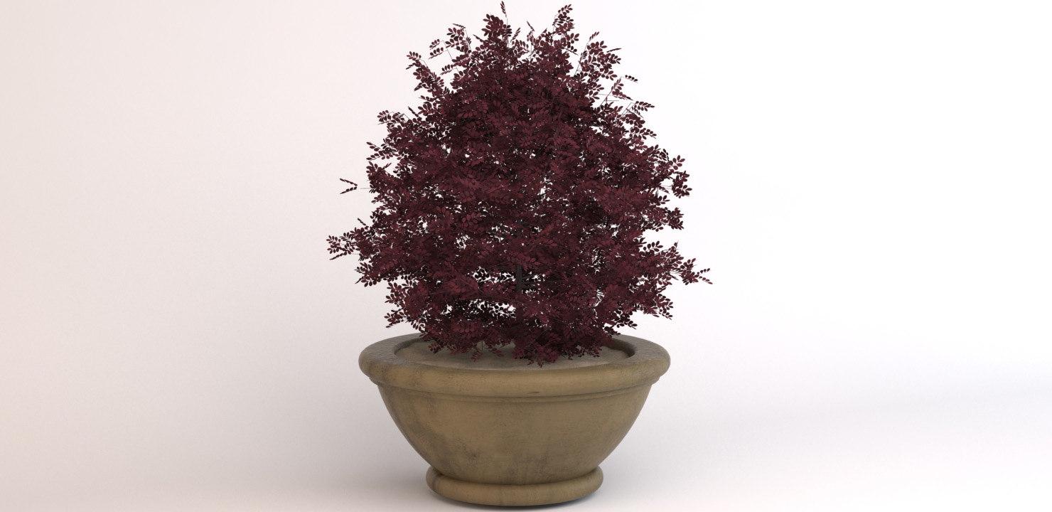 decorative pot 3D model