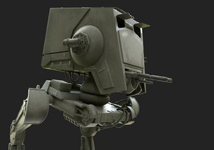 st scout walker 3D model