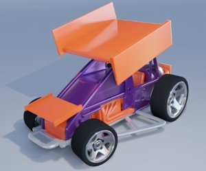 3D hot wheels slide