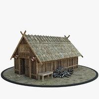 medieval viking 3D model