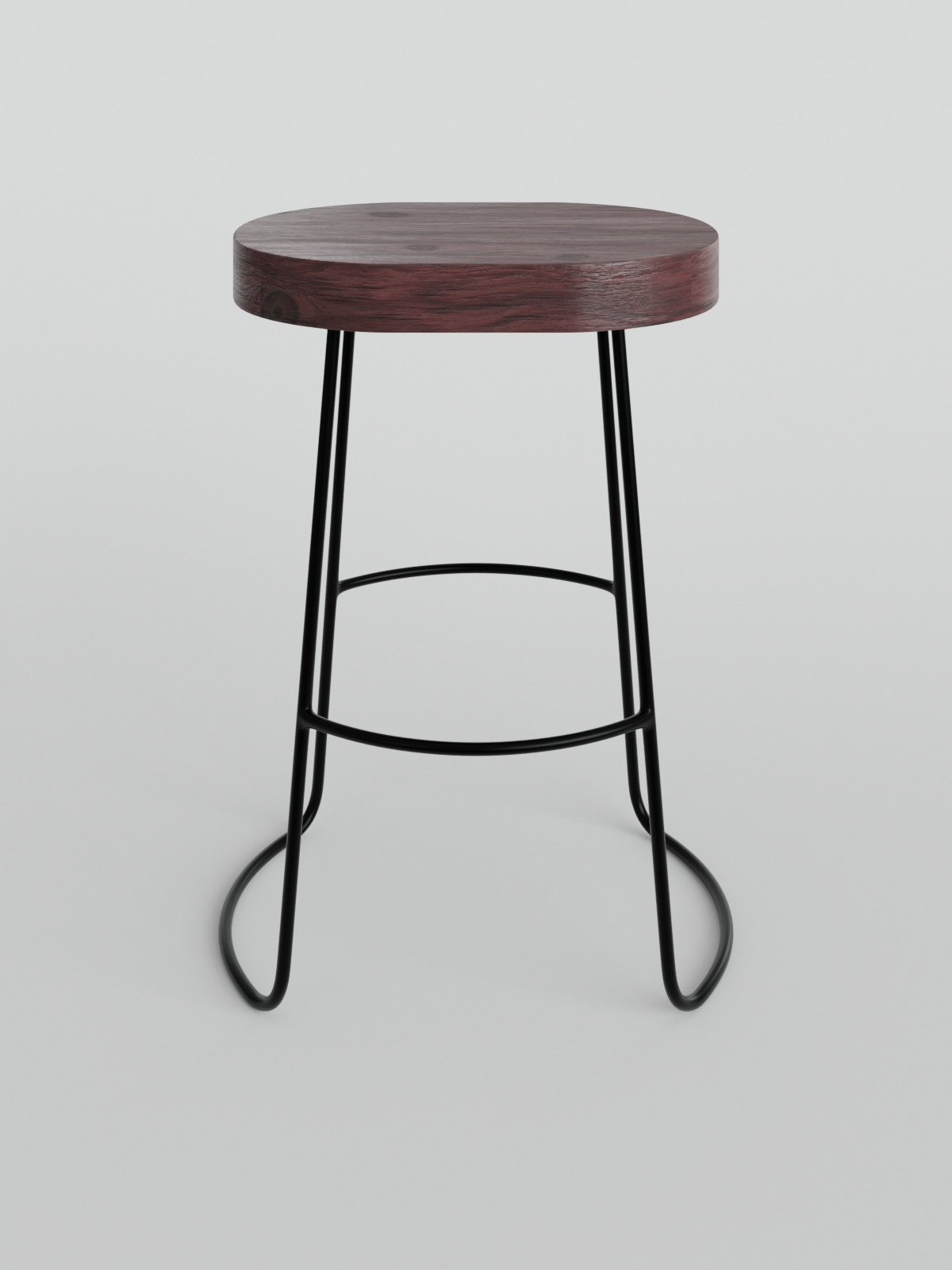 Fantastic Remy Metal And Wood Counter Stool Uwap Interior Chair Design Uwaporg