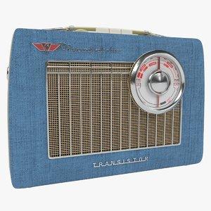 3D transistor radio