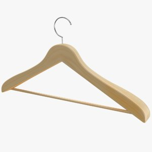 real clothes hanger 3D